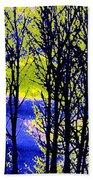 Spring Woodland  Beach Towel