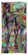 Springponies Beach Towel