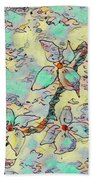 Springtime Blossoms Beach Sheet