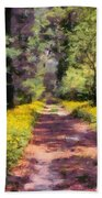 Springtime In Astroni National Park In Italy Beach Towel