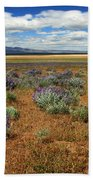 Springtime In Honey Lake Valley Beach Towel