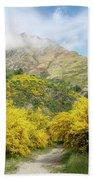 Springtime In New Zealand Beach Towel