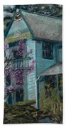 Springtime In Old Town Beach Towel by Mary Benke