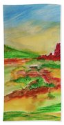 Springtime In The Valley Beach Towel