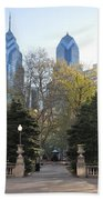 Sprintime At Rittenhouse Square Beach Towel