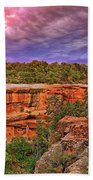 Spruce Tree House At Mesa Verde National Park - Colorado Beach Towel