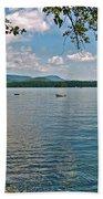 Squam Lake In New Hampshire   Beach Towel