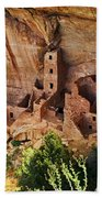 Square Tower Overlook - Alcove Dwellers Beach Towel