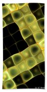 Squares In Abstract Beach Towel