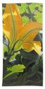 Squash Blossom Beach Towel