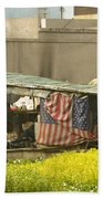 Squatters Homes Beach Towel