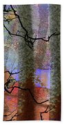 Squiggles And Lines Beach Towel