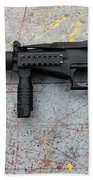Sr-2mp Submachine Gun Beach Towel