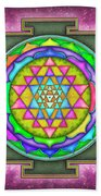 Sri Yantra - Artwork 7.5 Beach Towel