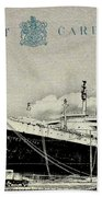 Ss United States - Post Card Beach Towel