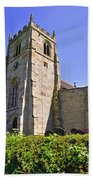 St Andrew's Church At Cubley In Derbyshire Beach Towel
