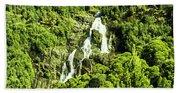 St Columba Falls Tasmania Beach Towel
