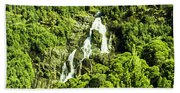 St Columba Falls Tasmania Beach Sheet