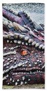 St Davids Day Dragon Beach Towel