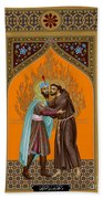 St. Francis And The Sultan - Rlsul Beach Towel