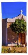 St. Francis De Assisi Adobe Church Beach Towel