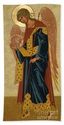 St. Gabriel Archangel - Jcagb Beach Towel