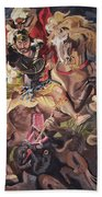 St George And The Dragon Beach Towel