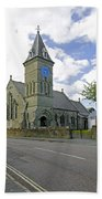 St John The Evangelist Church At Wroxall Beach Towel by Rod Johnson