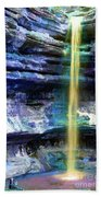 St. Louis Canyon Liquid Gold Beach Towel