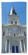 St. Louis Cathedral Study 1 Beach Towel