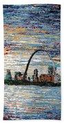 St Louis Beach Towel