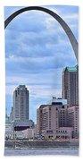 St Louis Panoramic View Beach Towel