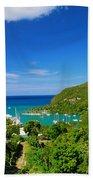 St. Lucia  Beach Towel