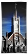 St. Mary In The Mountains Beach Towel