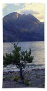 St. Mary Lake Beach Towel