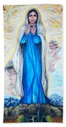 St Mary Of The Valley Beach Towel