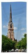 St. Matthew's German Evangelical Lutheran Church In Charleston Beach Towel