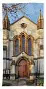 St Michael And St George R.c Church - Lyme Regis Beach Towel