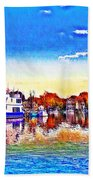St. Michael's Marina Beach Towel
