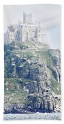 St Michael's Mount Cornwall England Beach Towel