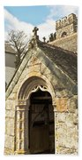 St Mylor And Bell Tower Beach Towel
