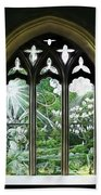 St Nicholas And St Magnus Church Window - Impressions Beach Towel
