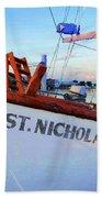 St. Nicholas IIi Beach Towel