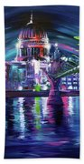 St Pauls Cathedral London Beach Towel