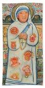 St. Teresa Of Kolkata Beach Towel
