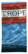 St. Tropez Beach Towel by Lainie Wrightson