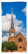 St Wenc On A Bright Summer Day Beach Towel