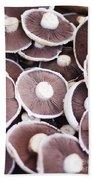 Stacked Mushrooms Beach Towel