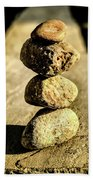 Stacked Rocks Beach Sheet