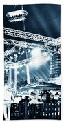 Stage Lights Beach Towel